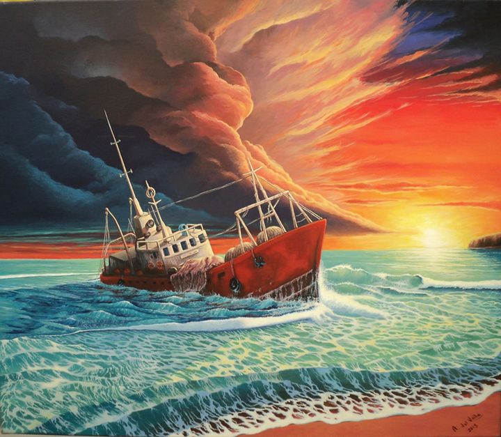 After the storm - Alejandro del Valle