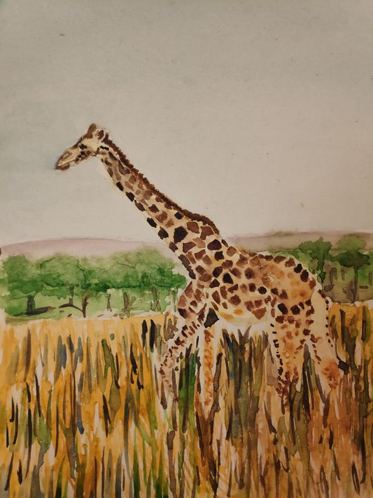 Strides - Zertab's Watercolor Works