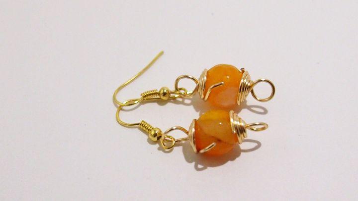 Marbled Orange - TI Designz