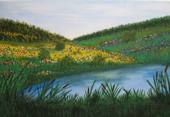Summer Landscape - World of Agnes