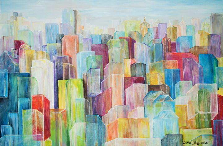 City Of Glass - Structuralism - GiotA Bogiatzi