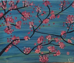 Water Cherry Blossom