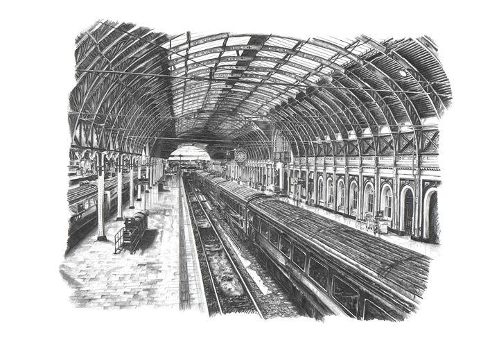 Paddington Station - London - Daniel Newbury - Strokes of London