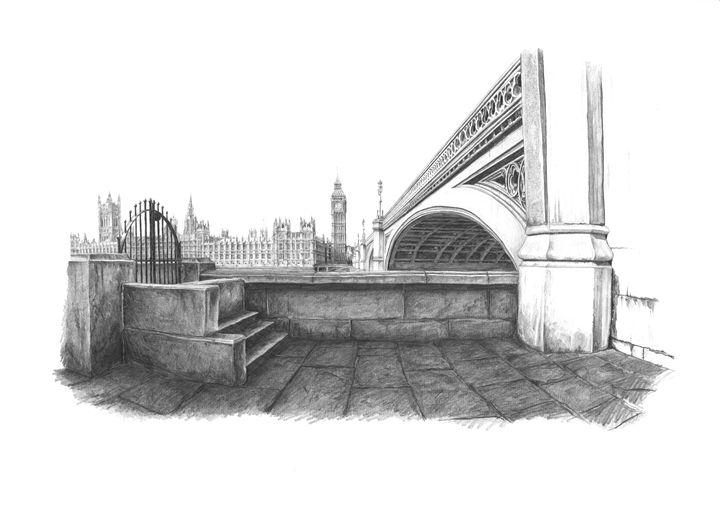 House of Parliament, London - Daniel Newbury - Strokes of London