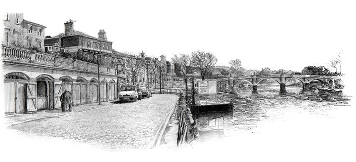 Richmond Upon Thames, Surrey - Daniel Newbury - Strokes of London