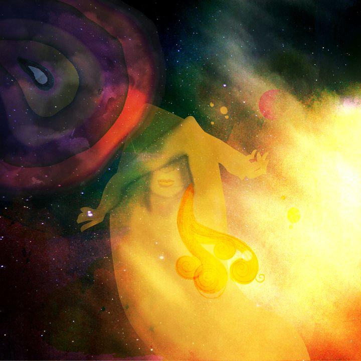 Cosmic Sleepiness - Anna Visintainer