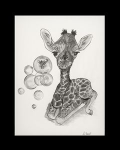 Fun with Bubbles - Giraffe