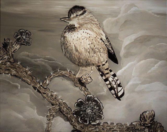 Cactus bird - Lj Feasel - Artist