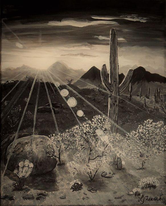 Desert Sun - Lj Feasel - Artist