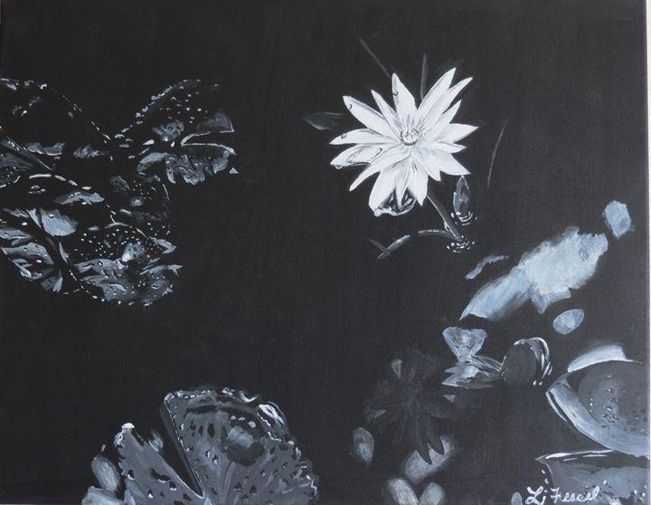 Water Lily - Lj Feasel - Artist
