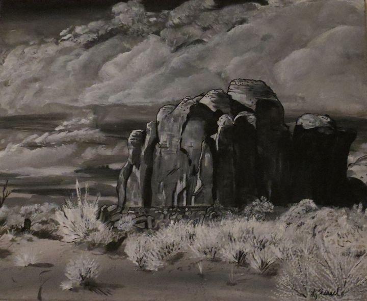 Desert Giant - Lj Feasel - Artist