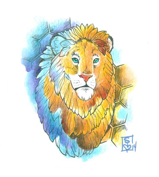 Honey Lion - Sierra Kay Art