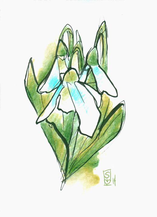 Snor drops - Sierra Kay Art