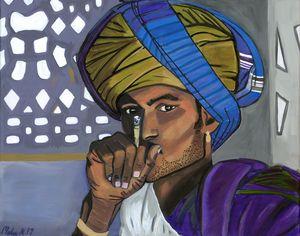 Rajasthani Farmer - Malee Kenworthy