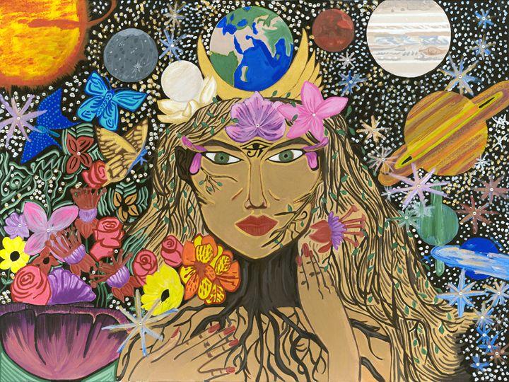 Mother Earth Goddess - Malee Kenworthy