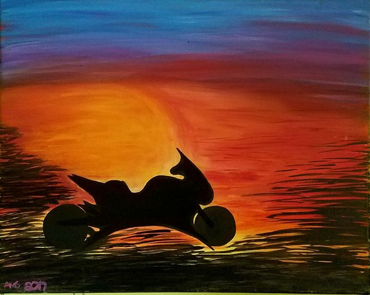SUNSETS & Motorcycles - A&KRescue