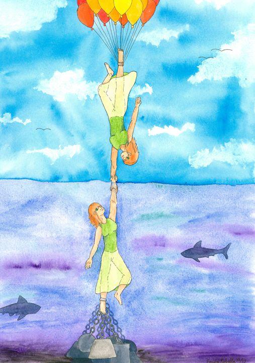 Mirror Image: Joy and Fear - Emily Koballa