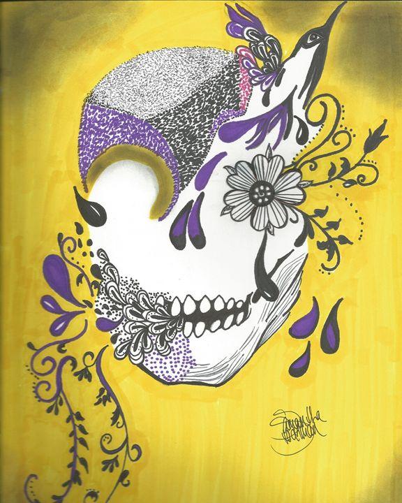 Blooming Sugar Skull - Artissia Fanal