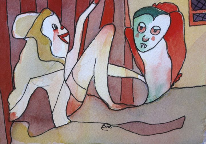 Dracula's Bride - Outsider Art