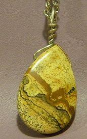 Owyhee Jasper Wrapped Pendant