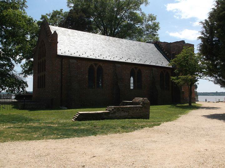 Old church at Jamestown - Ren's Lens