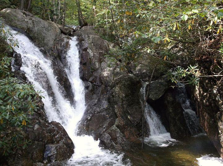 Cabin Creek Waterfall 4 - Ren's Lens