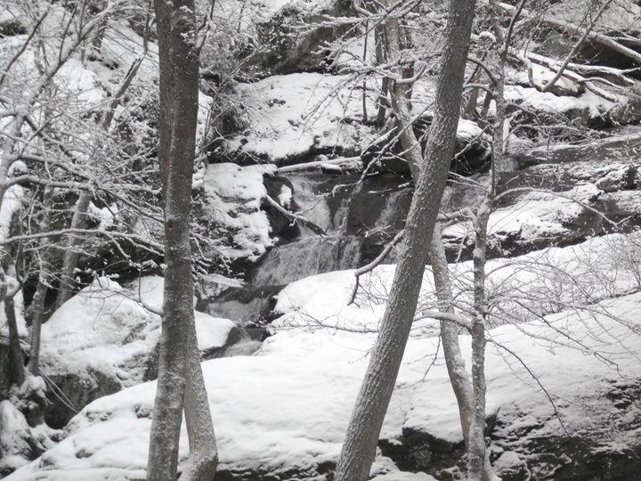 Cunningham Falls in Winter 1 - Ren's Lens