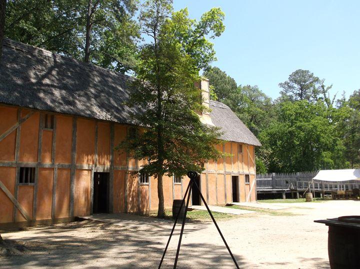 Jamestown Fort interior - Ren's Lens
