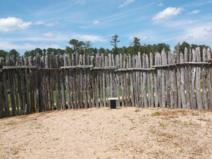 Jamestown Fort Palisade - Ren's Lens