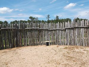 Jamestown Fort Palisade