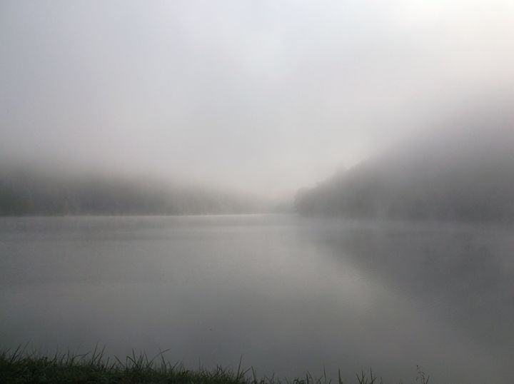 Fog on Hungry Mother Lake - Ren's Lens