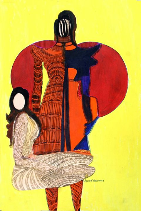 The language of fashion - Paintings by Dr. Anita Varshney (AVA-Art Gallery)