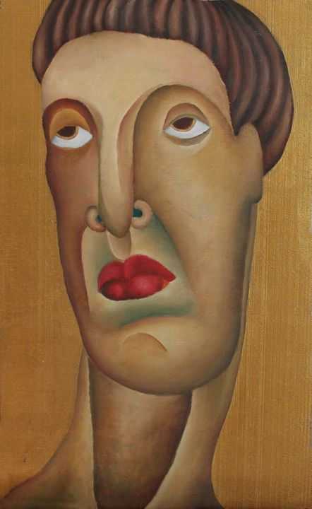 Head - Maria's paintings