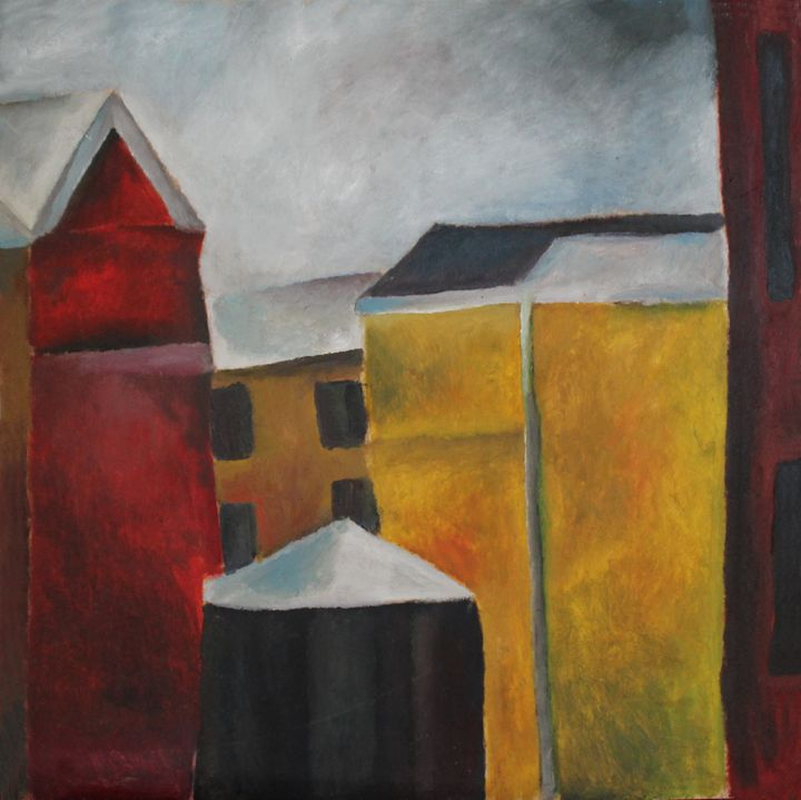 The view from a window 1 - Maria's paintings
