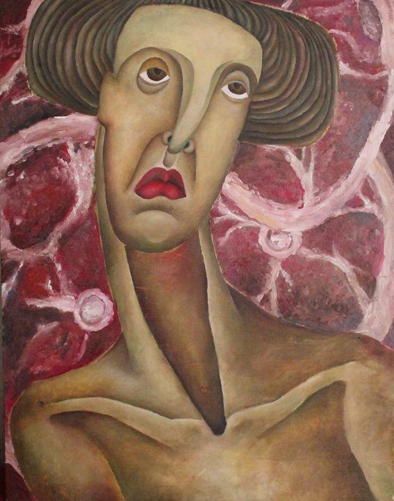 Head and meet - Maria's paintings