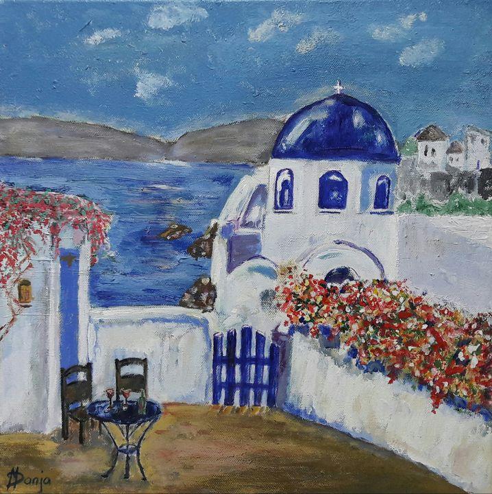 Santorini - Danja