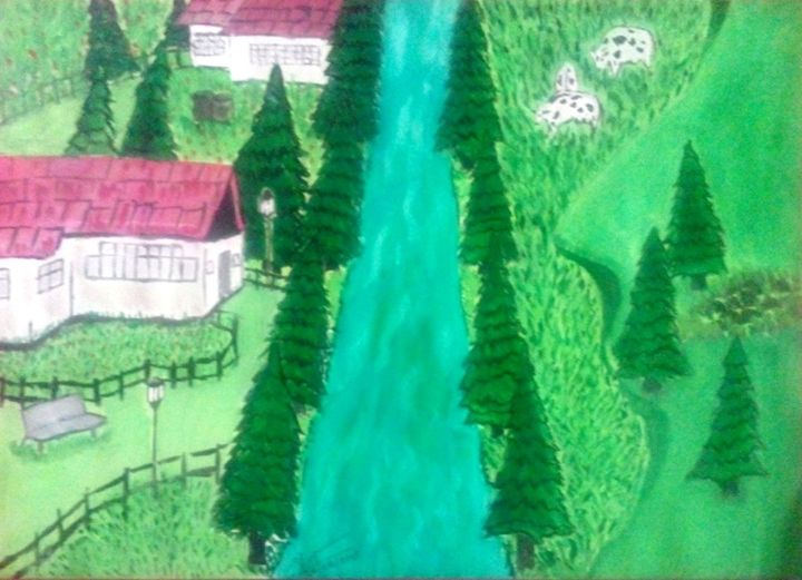 green land - Vishnu Prasad Sree