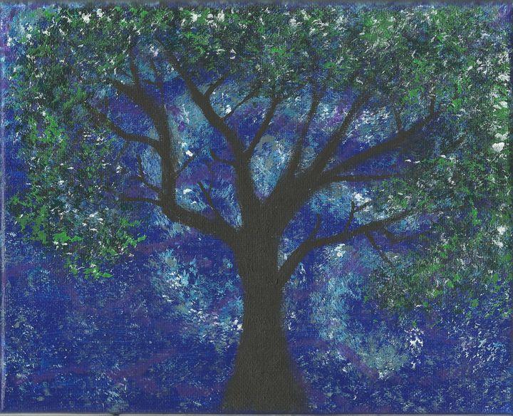 Cool colors tree - Randallflagg