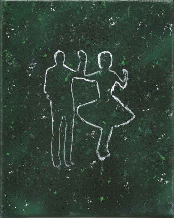 Lovers silloute - Randallflagg