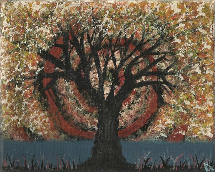 Spiral autumn tree - Randallflagg