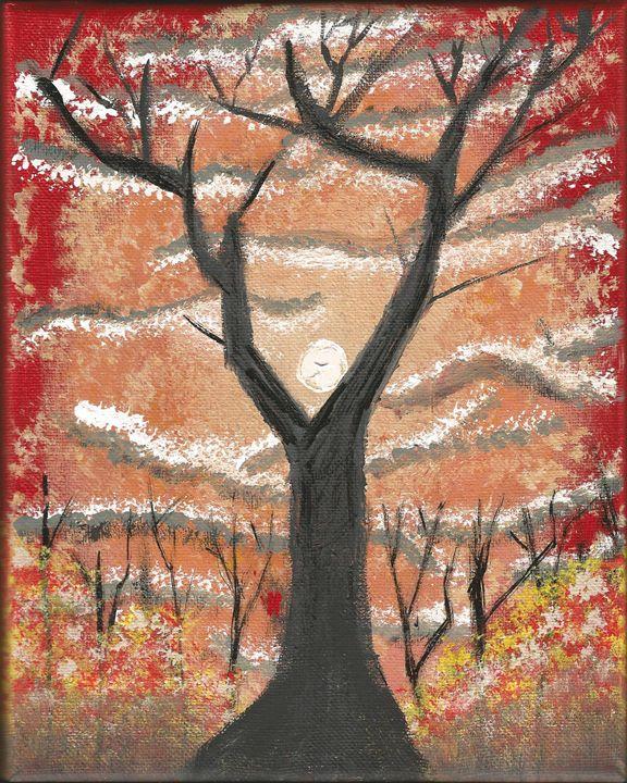 Autumn tree - Randallflagg