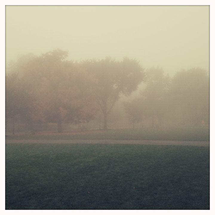 Foggy Green - Peter Carini