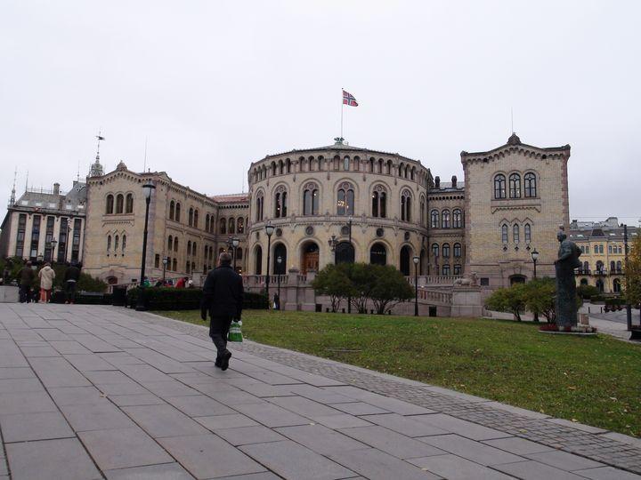 Norwegian parliament - Spomm
