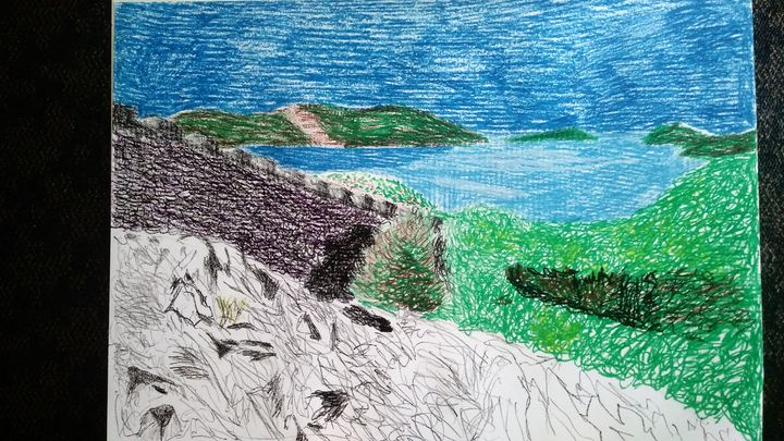 green and blue - Spomm