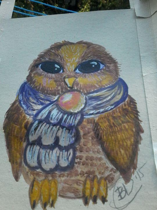 Lovely owl - LiluStern
