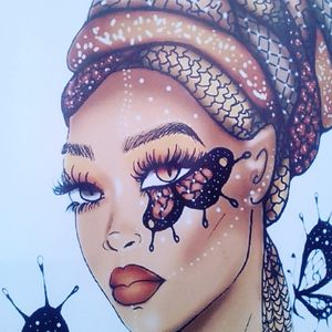 butterfly chic.