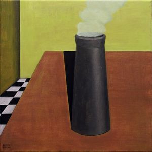 CHIMNEY ON THE TABLE