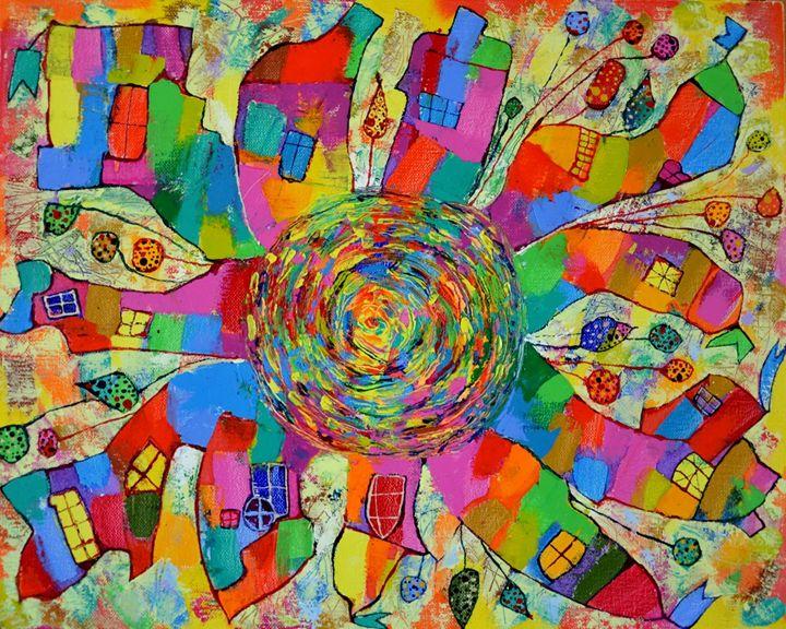 Villages like suns 2 - Vyara Tichkova(Vyara&Art)