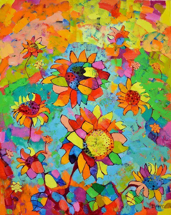 Sunflowers - Vyara Tichkova(Vyara&Art)