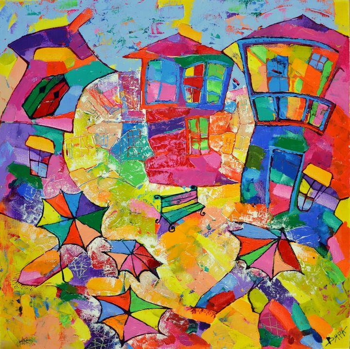 Greek summer - Vyara Tichkova(Vyara&Art)